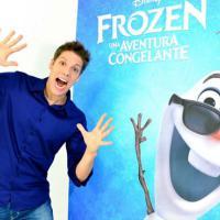 """Fábio Porchat dublará Olaf em """"Frozen - Uma Aventura Congelante"""""""