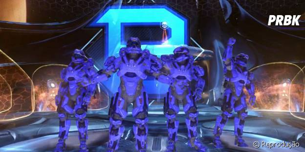 """Master Chief jogará ao lado do trio Blue team no multiplayer de """"Halo 5: Guardians"""""""