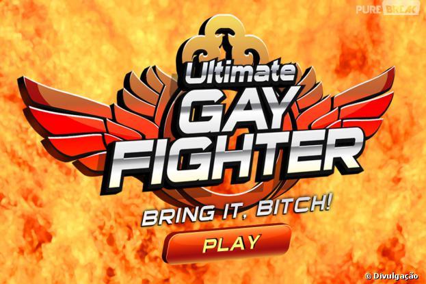 """""""Ultimate Gay Fighter"""" é o primeiro jogo de luta gay"""