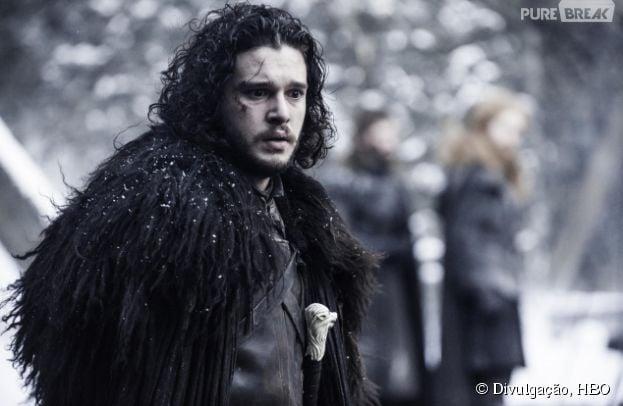 """Em """"Game of Thrones"""", Jon Snow (Kit Harington) foi assassinado por seus companheiros da Patrulha da Noite"""