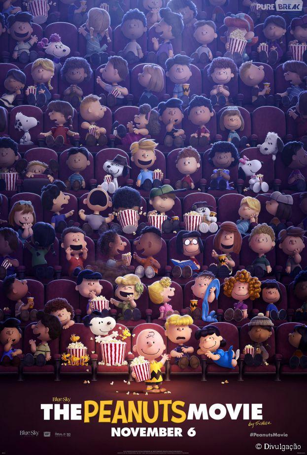 """É só o Purebreak ou você também tá morrendo de ansiedade para assistir """"Snoopy & Charlie Brown - Peanuts, O Filme""""?"""