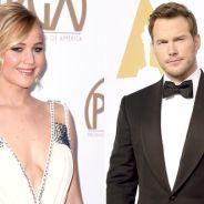 """Jennifer Lawrence, de """"Jogos Vorazes"""", e Chris Pratt podem se apaixonar em nova ficção científica"""