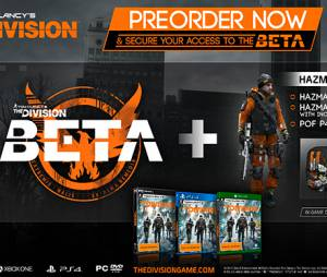 """Qualquer tipo de pré-encomenda de """"Tom Clancy's The Division"""" garante acesso ao beta e itens exclusivos in-game"""