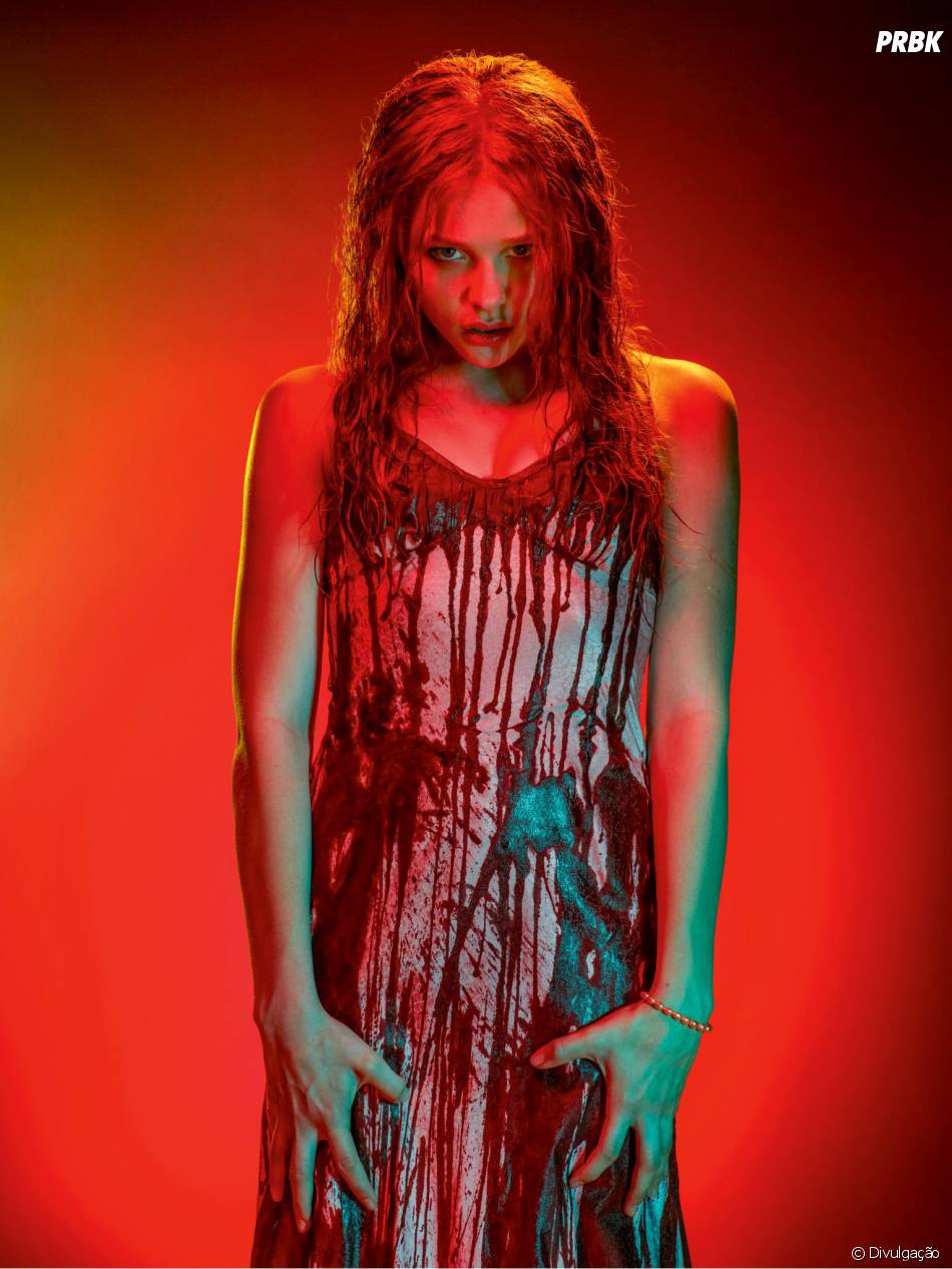 "Chloë Moretz interpreta Carrie no remake de ""Carrie - A Estranha"""