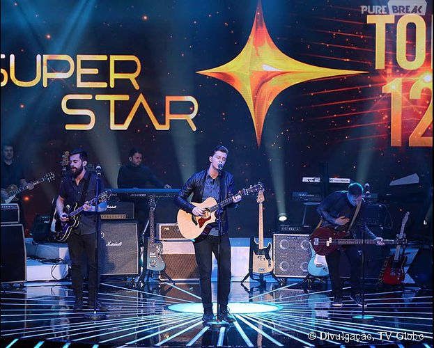 """A Scalene conseguiu 86% dos votos no TOP 12 do """"SuperStar"""""""