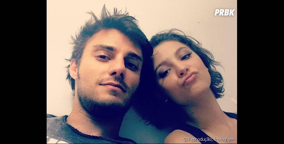 """Hugo Bonemer faz par romântico com Laís Pinho em """"Malhação"""", eles são Martin e Micaela, respectivamente!"""