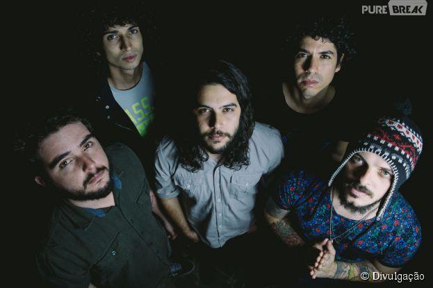"""Banda Scalene, do """"SuperStar"""" faz show no Rio de Janeiro"""
