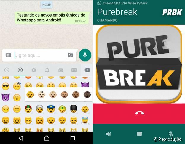 Chamadas de voz e busca padrão em todas as conversas são adicionadas em nova versão do Whatsapp