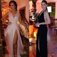 """De """"Além do Tempo"""": Paolla Oliveira ou Alinne Moraes? Quem foi a mais sexy da festa de lançamento?"""