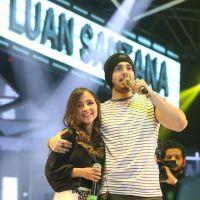 """Luan Santana canta com Bárbara Dias, do """"Iluminados"""", e cantora elogia o astro: """"É um cavalheiro"""""""