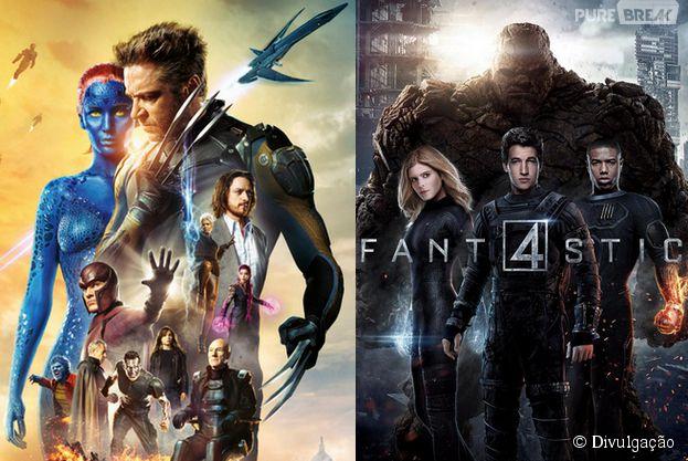 """O crossover de """"X-Men"""" e """"Quarteto Fantástico"""" pode chegar às telonas antes do que você imagina"""