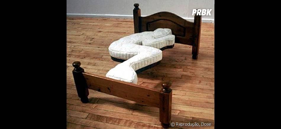 Essa cama vai ter obrigar a dormir em uma posição só. Isso não é uma boa ideia