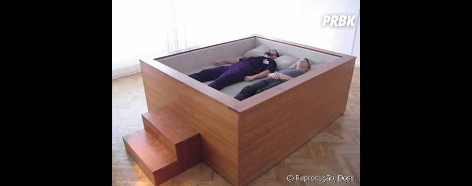 Talvez essa cama não traga uma sensação muito confortável