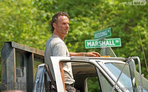 """Rick (Andrew Lincoln) aparece em sua primeira imagem oficial da sexta temporada de """"The Walking Dead"""""""