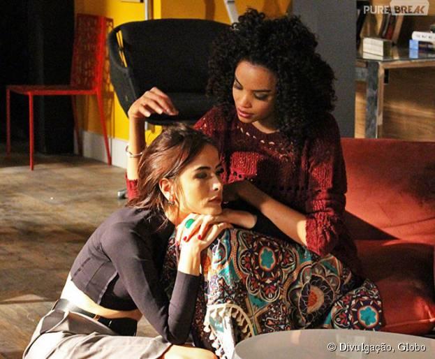 """Margot (Maria Casadevall) suspeita de gravidez em """"I Love Paraisópolis"""""""