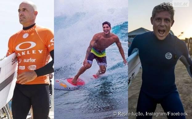 Gabriel Medina, Kelly Slater e Mick Fanning vão disputar bateria histórica no Circuito Mundial de Surf 2015