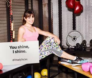 Com Lea Michele como rosto da campanha, a ação #ActuallySheCan busca incentivar mulheres a atingirem suas metas