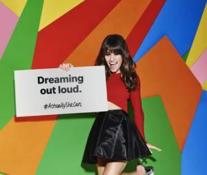 "Estrela de ""Scream Queens"", Lea Michele usa a hashtag #ActuallySheCan para defender a luta feminista"