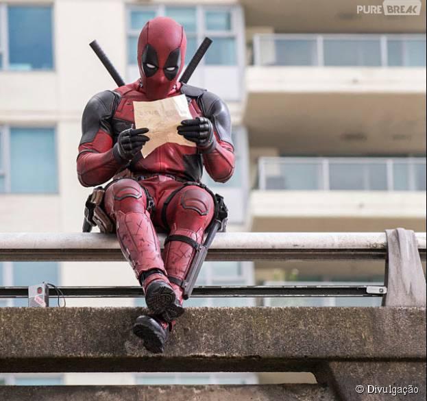 """""""Deadpool"""", com Ryan Reynolds, vai ganhar o seu primeiro trailer em breve"""