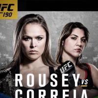 """No """"UFC 190"""": Ronda Rousey e brasileira Bethe Correia disputam cinturão de Peso-Galo!"""