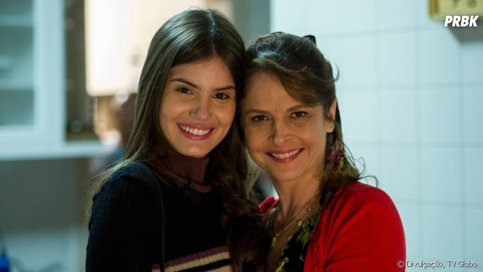 """Angel (Camila Queiroz) não quer que a mãe fique triste, mas vai virar amante de Alex (Rodrigo Lombardi) em """"Verdades Secretas"""""""