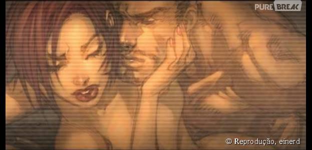 """Em uma das muitas realidades de """"Os Vingadores"""", a Viúva Negra e o Homem de Ferro, além do relacionamento, gravam uma sex tape que vaza!"""