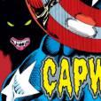 Capitão América se transformando em Lobisomen é doideira de mais para um filme!