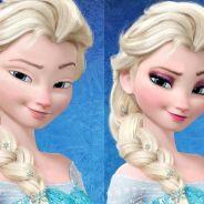 """De Elsa do """"Frozen"""" à """"Mulan"""": veja o antes e o depois das Princesas da Disney sem maquiagem"""