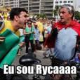 Na manifestação de impeachment da Dilma, rolou até homenagem a outro meme famosa da internet