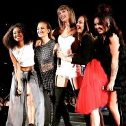"Taylor Swift surpreende fãs e canta ""Black Magic"" com o Little Mix durante show da ""1989 World Tour"""