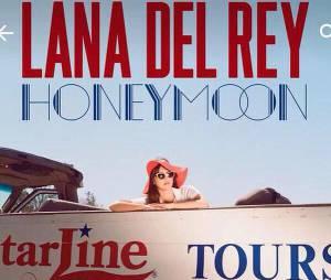 """Lana Del Rey no CD """"Honeymoon"""""""