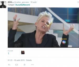 Para finalizar, mais Xuxa pra galera da zoeira!