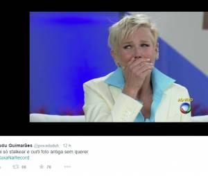 Porque até a Xuxa deve ter trauma de foto 3x4!