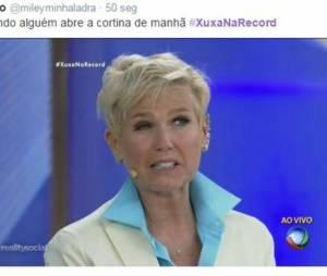Xuxa sabe decifrar bem todos os sentimentos da galera!