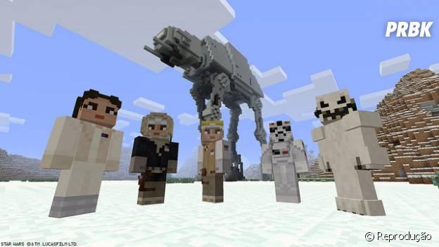 """Jogo """"Minecraft"""" ganha Rebel Pack inspirado na tripulação da nave Ghost de """"Star Wars"""""""
