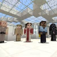 """Game """"Minecraft"""" ganha conteúdo de """"Star Wars"""" na versão para PlayStation"""