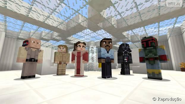 "DLC de ""Minecraft"" com tema de ""Star Wars"" chega para consoles PlayStation"