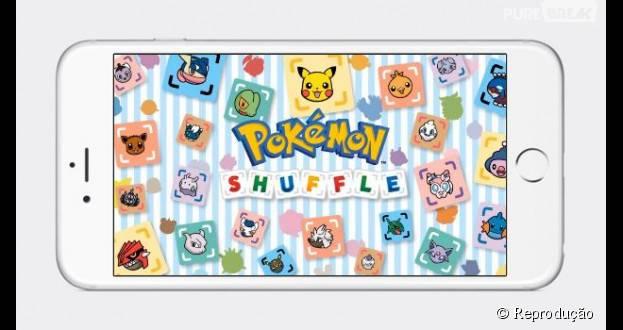 """""""Pokémon Shuffle Mobile"""" já está disponível para download no Android e iOS"""