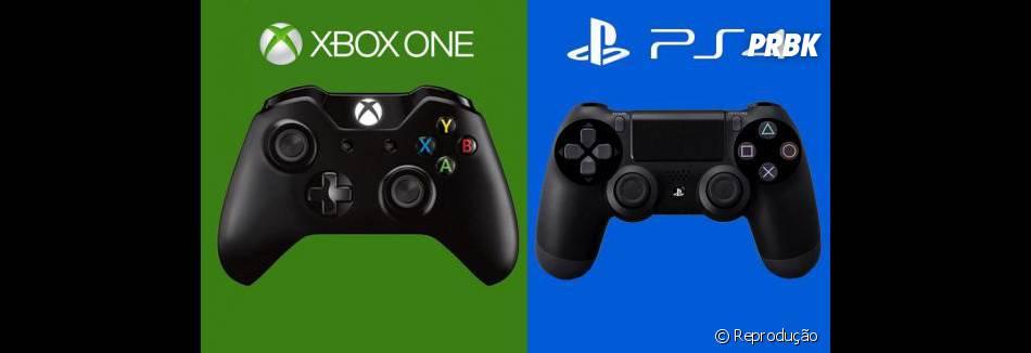 Mesmo com a oferta, o Playstation 4, da Sony, ainda tá mais caro que o Xbox One, da Microsoft