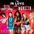 """Recentemente o Fifth Harmony lançou """"Im In Love With a Monster"""" para o filme """"Hotel Transilvânia 2"""""""