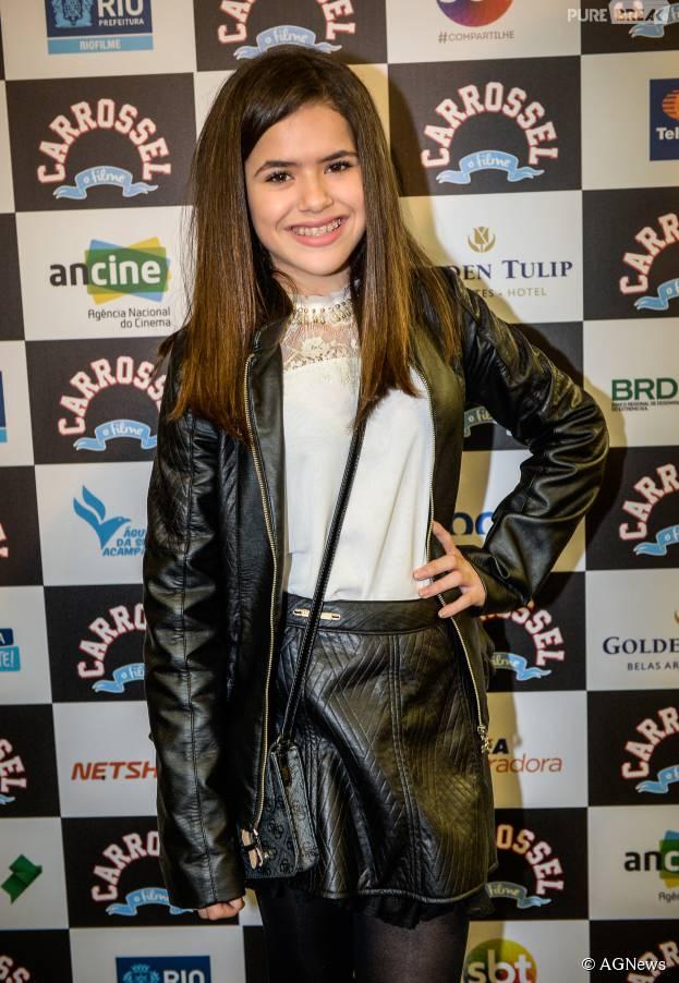"""Estrela de """"Carrossel - O Filme"""", Maisa Silva brinca sobre boa forma no Twitter"""