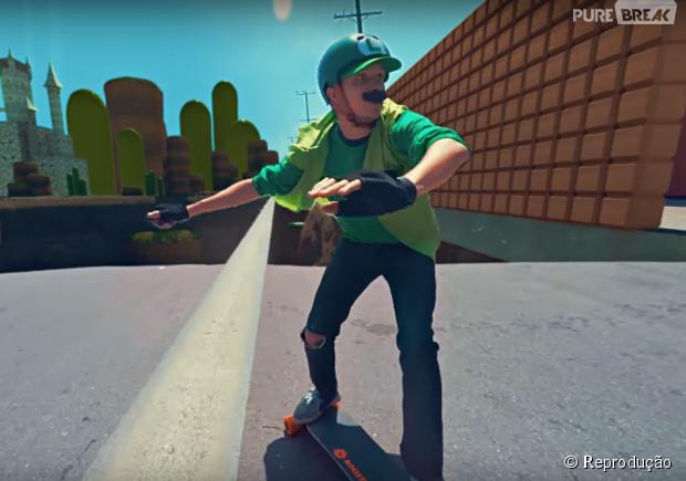Youtubers produzem versão viral de Mário Kart