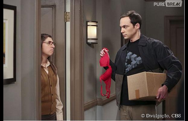 """Em """"The Big Bang Theory"""": 9ª temporada começa com rompimento entre Amy (Mayim Bialik) e Sheldon (Jim Parson)!"""