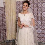 """Bruna Marquezine, de """"I Love Paraisópolis"""", posa vestida de noiva e assume sonho: """"Quero me casar"""""""