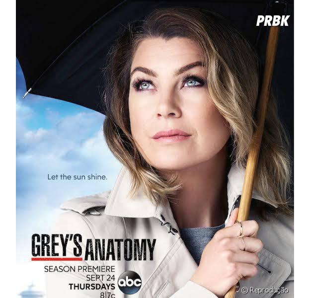 """Em """"Grey's Anatomy"""": Meredith (Ellen Pompeo) é destaque em novo pôster!"""