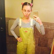 Miley Cyrus ama atualizações do Snapchat e publica vídeos brincando com as novidades do app
