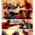 O que acontece quando Demolidor e Elektra se juntam? Não sobra para ninguém! O vilão Mercenário sabe disso...