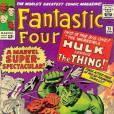 """Na 25ª edição da revista do """"Quarteto Fantástico"""", Hulk descobre que será substituído pelo Capitão América na equipe dos Vingadores. Isso deixa o herói maluco, que sai quebrando tudo. Quem melhor que o Coisa para enfrentá-lo?"""