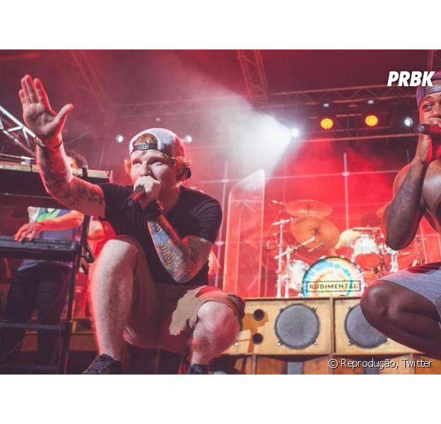 Ed Sheeran lança parceria com o rapper Rudimental