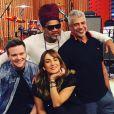 """O """"The Voice Brasil"""", com Cláudia Leitte, Michel Teló, Lulu Santos e Carlinhos Brown estreia no dia 1 de outubro"""
